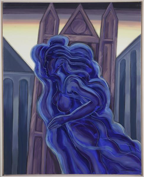 The blue fanthom