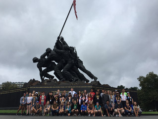 Forty Kids Head to D.C. on Unforgettable Trip