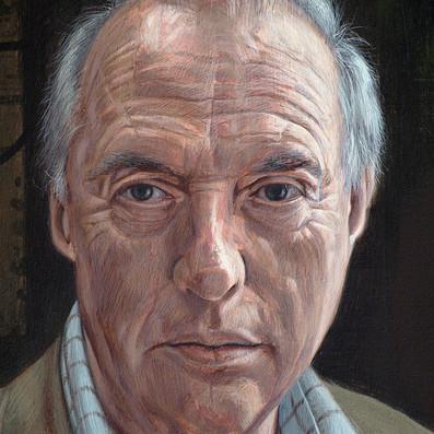 POORTRAIT OF PROF MALCOLM BURROWS (detail)