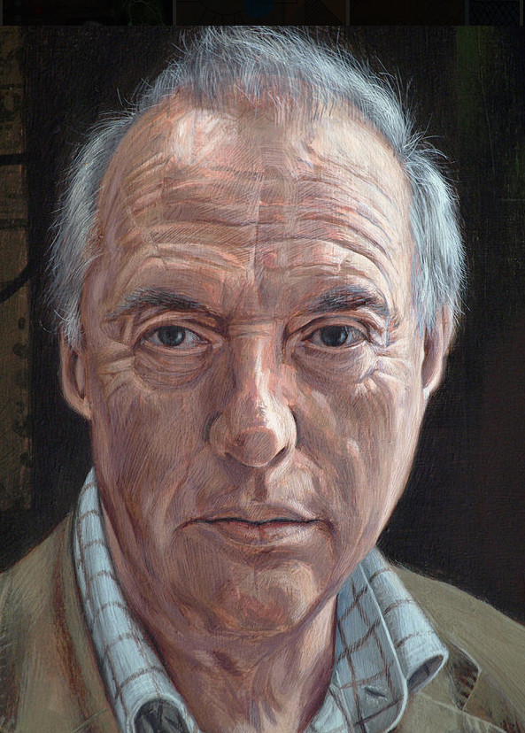 POORTRAIT OF PROF MALCOLM BURROWS (detail)