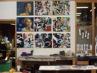 Studio Wall November 2014