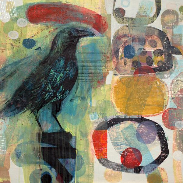BIRD ON A PEDESTAL