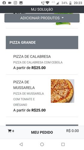 Cardapio Pizzaria
