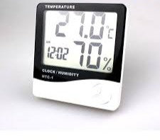 Hygrometer. Temp and humidity tracking.