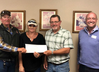 Jordan Valley Ambulance Services Inc. Receives $110,000 of Funding for Facility Construction