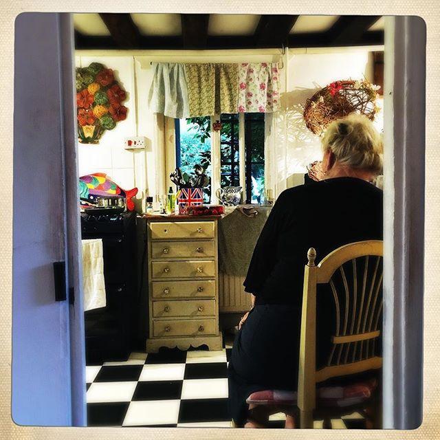 Mum in her kitchen
