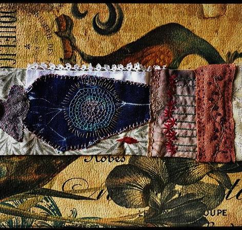 Talisman cuff made from william morris f
