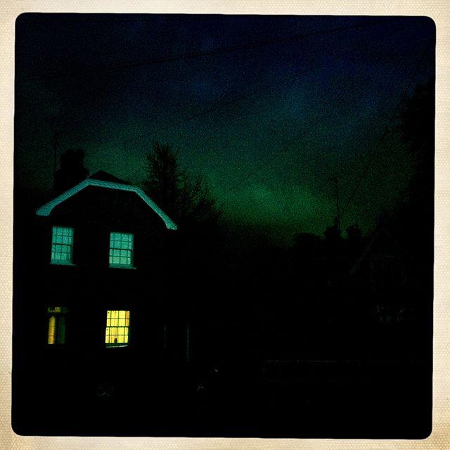 Twilight in Suffolk on an Autumn evening