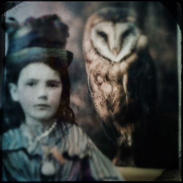 Hatty and her owl
