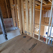 Upstair Bathroom Plumbing Install