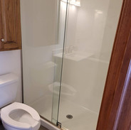Standing Shower Install
