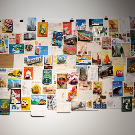 Pop-up Postcard Wall (2019)