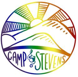 Camp Stevens Pride Sticker - Version 2 (2019)