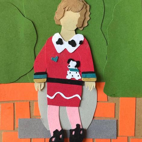 Emily in a Dalmatian Sweater (2019)