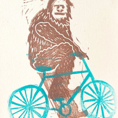 Bigfoot on a Bicycle (2018)