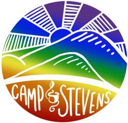 Camp Stevens Pride Sticker- Version 1 (2019)
