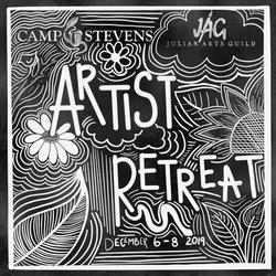 Camp Stevens Artist Retreat Flyer (2019)