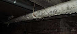 Afvoerbuis plafond