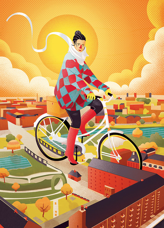 How the bicycle transforms cities