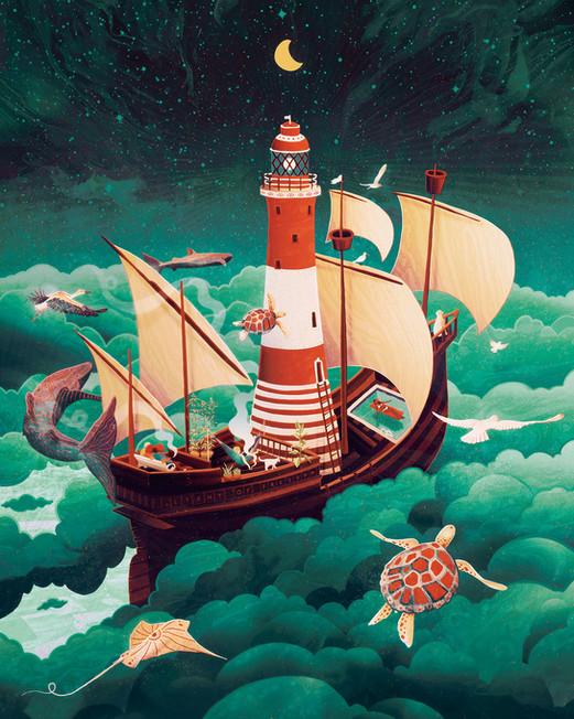Lighthouse of freedom