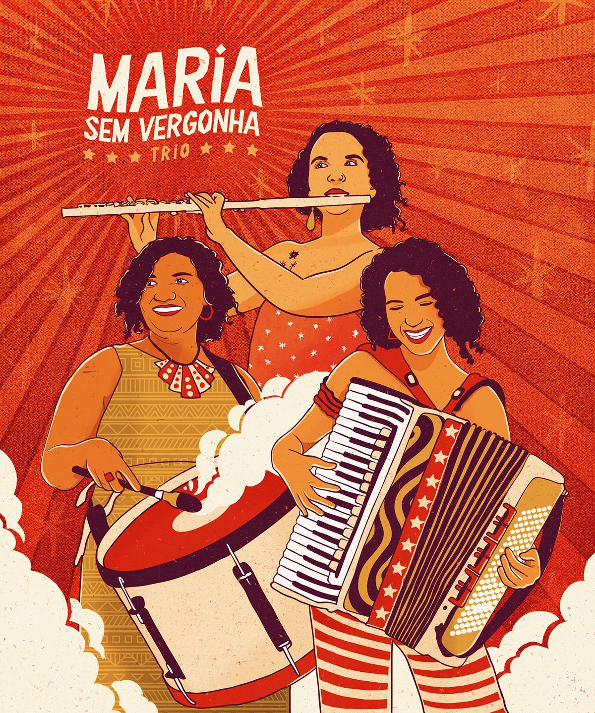 Maria Sem Vergonha Trio