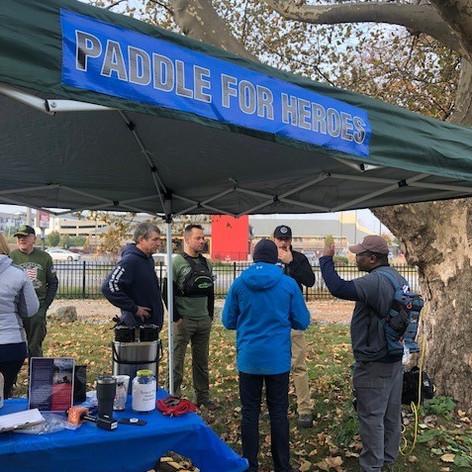 2019 Veteran's Day Paddle