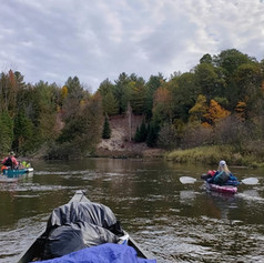 Manistee River in Northern Michigan