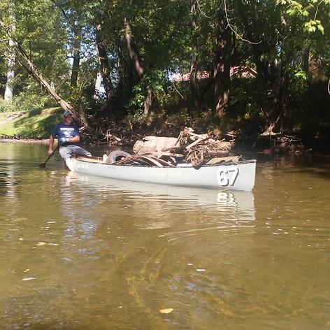 2017 Kokosing River Clean Up