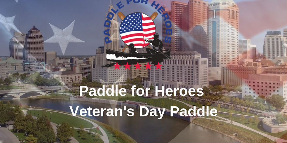 Paddle For Heroes Veteran's Day Paddle