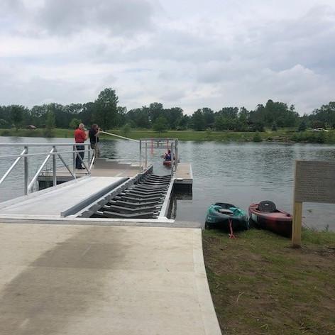 ADA Accessible Kayak Launch