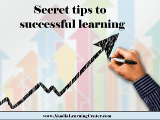 Secret tips to successful learning