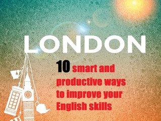 10 smart and productive ways to improve your English skills