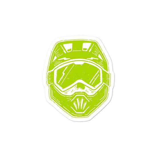 T.F.C Helmet Sticker Lime