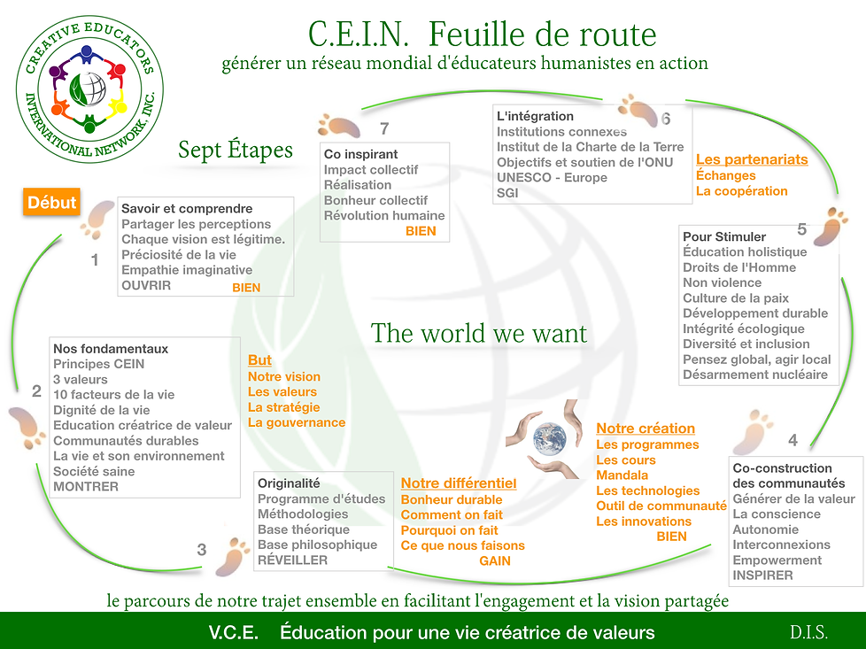 CEIN Roadmap French