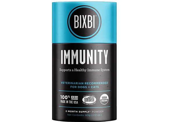 Bixbi Immunity - Organic Superfood Mushroom Supplement for Dogs & Cats