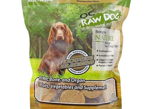 OC Raw Dog Food - Freeze Dried Goat & Produce Sliders 14 oz