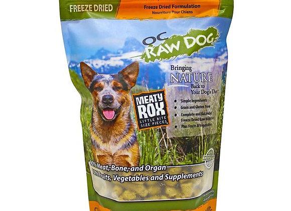 OC Raw Dog Foods - Freeze Dried Chicken, Fish & Produce Meaty Rox 5.5 oz