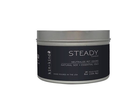 "Kin+Kind - ""Steady"" Odor Neutralizing Candle 8 oz"