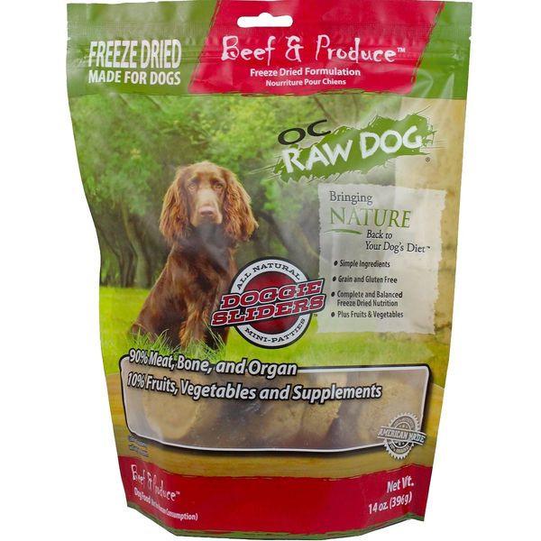 OC Raw Freeze Dried Dog Food