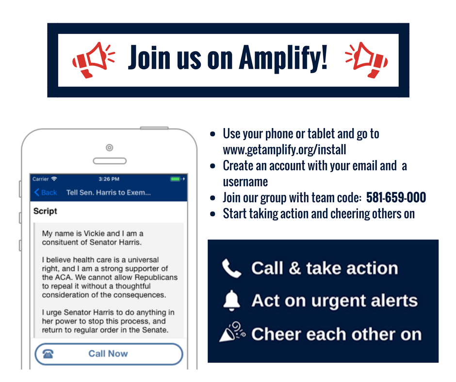 Join us on Amplify