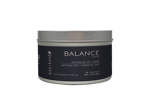 "Kin+Kind - ""Balance"" Odor Neutralizing Candle 8 oz"