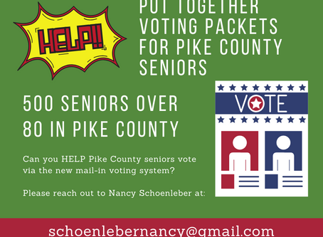 Voting Packets for Pike County Seniors