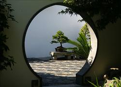 Chinese Garden Doorway