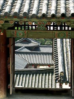 Korean Doorway