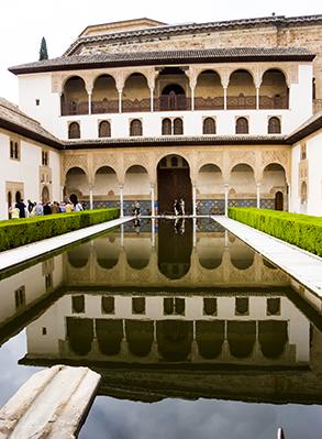 Alhambra Courtyard