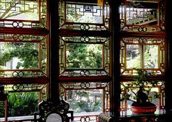 Chinese Garden Window