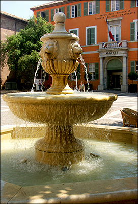 Frejus Fountain