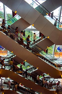 Kowloon Escalators