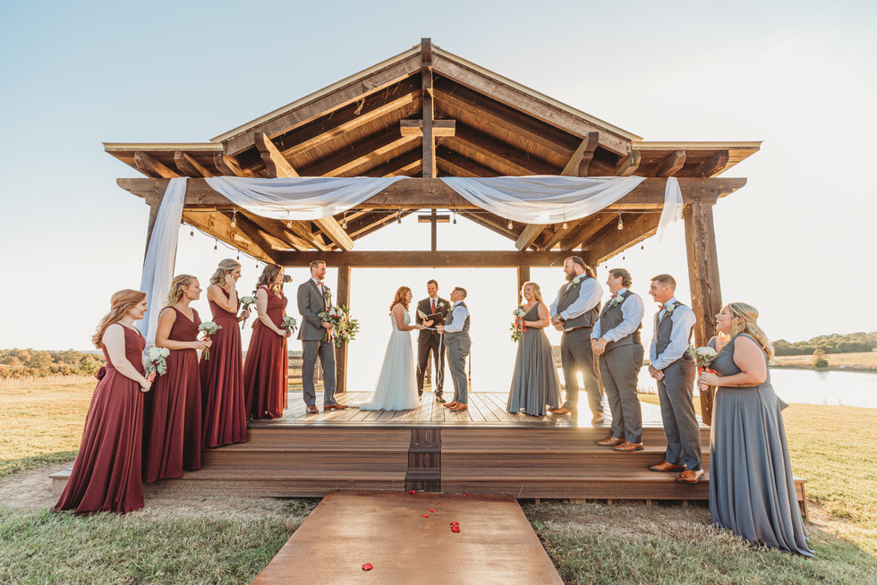 Richardson Wedding at The White Barn