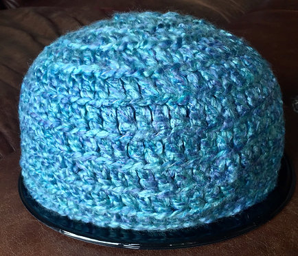 Hand made crochet beanie